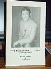 The Uncrowned Champion, Joey Giambra, Middleweight Boxing Champion Signed