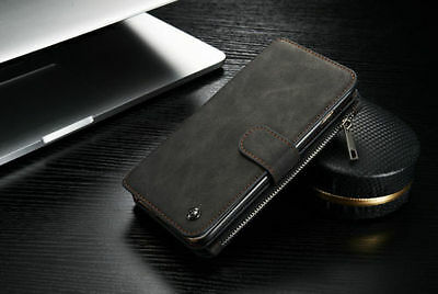 Leather Case Cover Zipper Wallet Multifunction For Samsung note5 S6 EDGE plus +