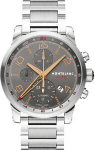4a748da0726 Image is loading MODEL-107303-NEW-MONTBLANC-TIMEWALKER-CHRONOVOYAGER-UTC -AUTOMATIC-