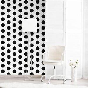 World-Of-Wallpaper-Grand-Pois-a-Pois-Noir-Blanc-A617-Cao-2