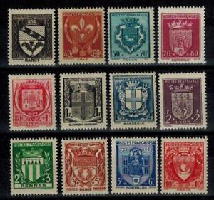 a58-timbres-de-France-n-526-537-neufs-annee-1941