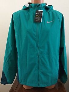 7cbd127d20c7 Size Large L Men s Mens Nike Shield Lightweight Running Jacket Green ...