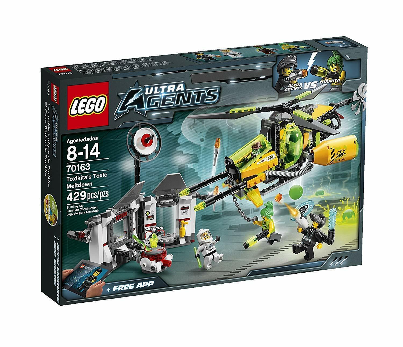 LEGO Ultra Agents  Toxikita toxique du MELTDOWN (70163) Neuf dans sa boîte 2014 Set