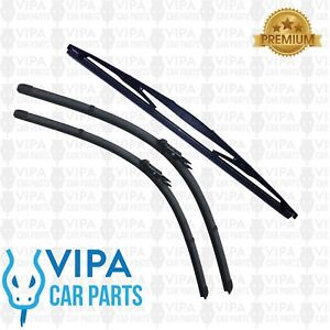 BMW-1-Series-118-F20-Hatchback-SEP-2011-to-MAR-2016-Windscreen-Wiper-Blades-Set
