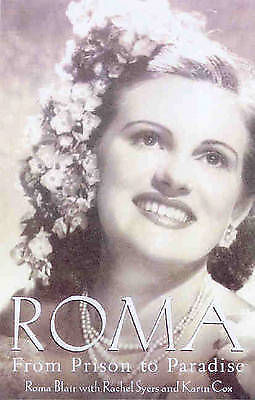 1 of 1 - Roma Blair FROM PRISON TO PARADISE SIGNED Japanese occupation Java Yoga