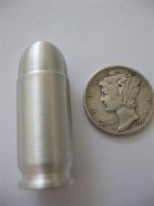 1 Oz 999 Pure 45 Apc Silver Bullet Bullion Barter