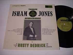 Rusty-Dedrick-Twelve-Isham-Jones-Evergreens-1960s-Stereo-LP-VG