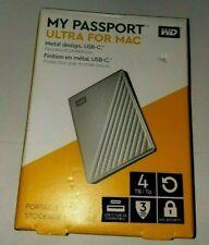 WD My Passport Ultra Plata Disco Duro port/átil de 1 TB y USB Tipo C