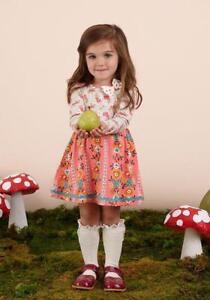 New Matilda Jane Once Upon a Time Tween 435 Daisy Chain Dress Size 10 NWT TWEEN