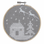 Counted-Cross-Stitch-Kit-with-Hoop-Beginner-Level-Christmas-Owl thumbnail 3