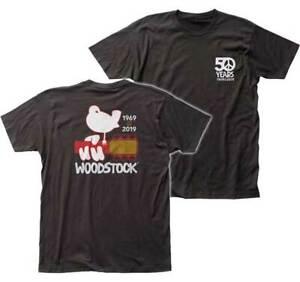 WOODSTOCK-50TH-ANNIVERSARY-T-SHIRT-BRAND-NEW-amp-LICENSED-MUSIC-WOOD09