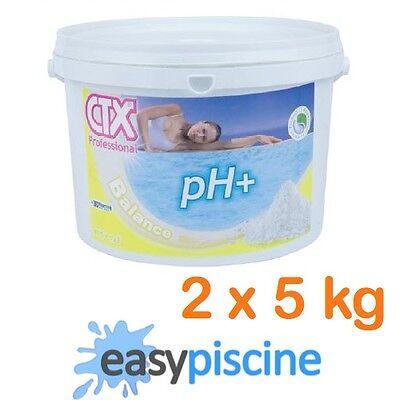 pH+ PLUS GRANULÉS (POUDRE) CTX-20 (ASTRAL-POOL) POUR PISCINE/SPA, 2 x 5 KG