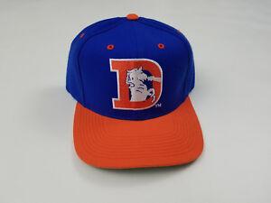 48478b71 Denver Broncos Snapback Hat Cap Vintage 80s Logo NFL Football Wool ...
