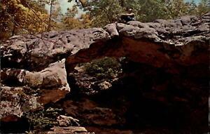 Natural Bridge rock formation Eureka Springs Arkansas ...