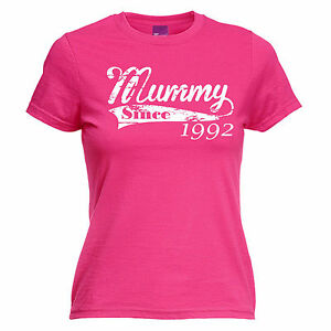 Image Is Loading Mummy Since Any Year WOMENS T SHIRT Tee