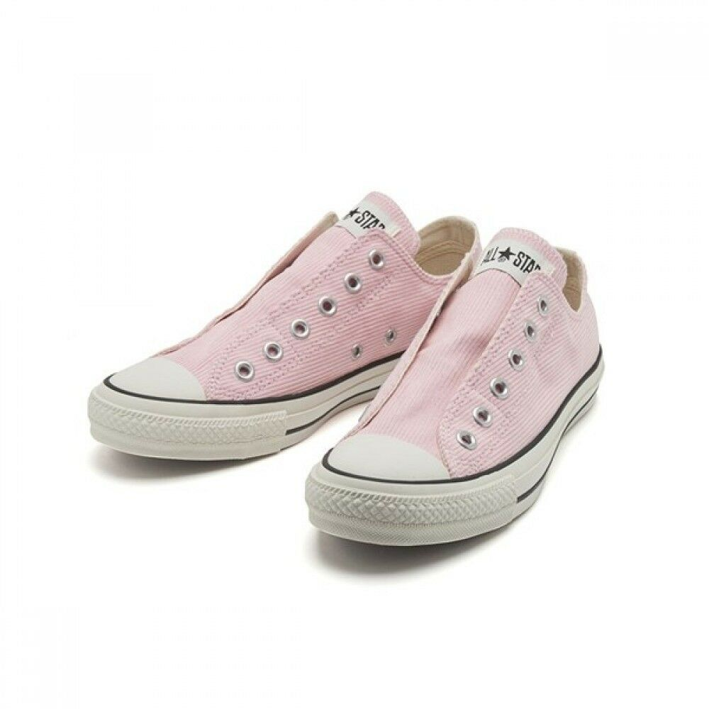 CONVERSE ALL STAR CORDUROY SLIP OX SLIP-ON 32862582 Men's Sneakers PINK
