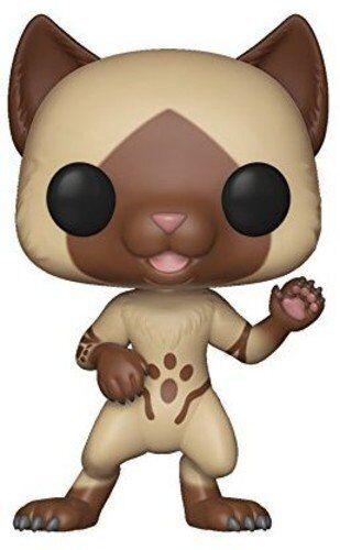 Juegos de vinilo Funko 27343 Pop cazadores Felyne figura de monstruo