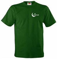Pakistan National Team Cricket Style Flag Jersey T-shirt - All Sizes Available