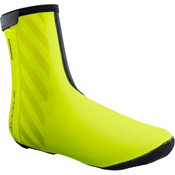 Shimano Unisex - S1100R H2O shoes Cover - Neon Yellow - Size S (37-40)