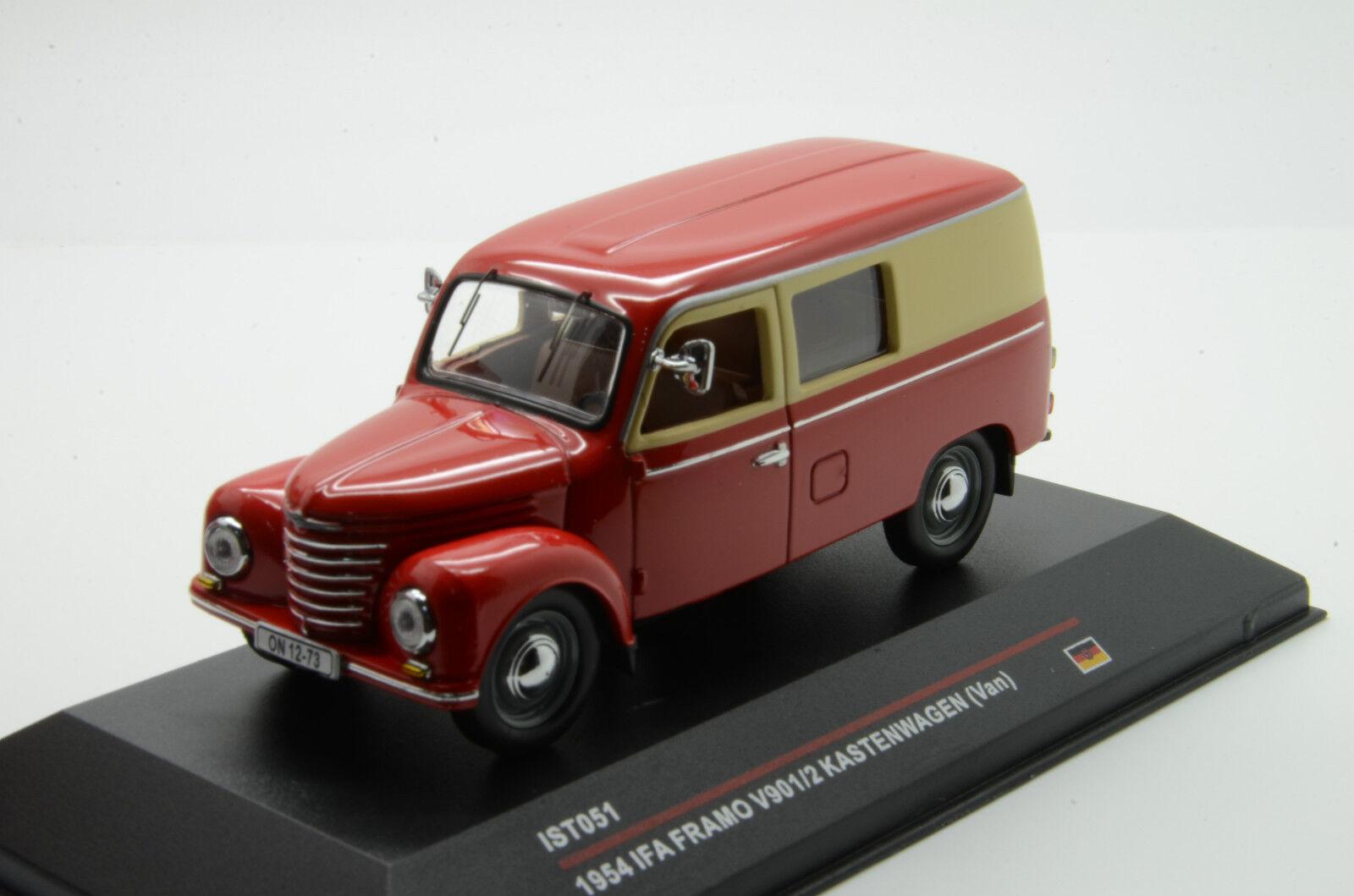 Ifa Framo V901 2 Kastenwagen 1954 IST 051 1 43