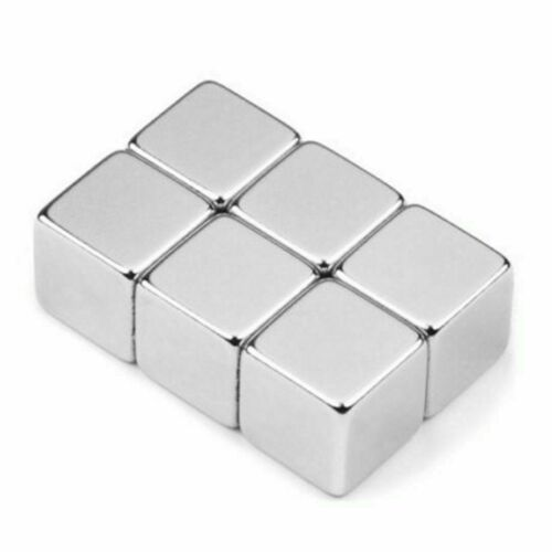 10Pcs N45 Super Strong Magnets 5mm Cube Neodymium Rare Earth Block Magnetic