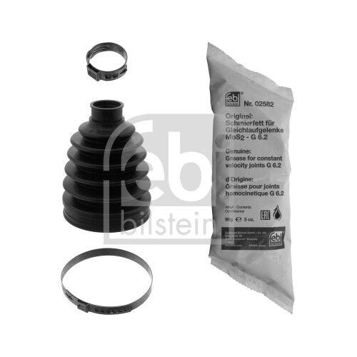 febi bilstein 48809 Achsmanschettensatz Faltenbalg Antriebswelle radseitig, Vorderachse