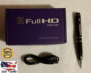16GB HD 1080P Hidden Mini Spy Pen Camera Camcorder Video Recorder Nanny Office 1
