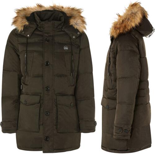 Coat men TWIG Field Parka L309 hooded padded winter jacket