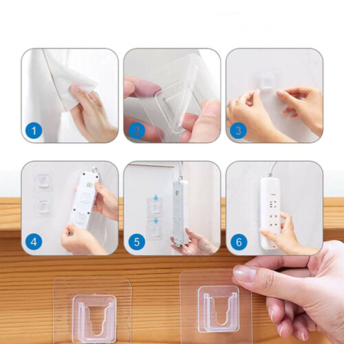 5//10 pcs Hanger Strong Transparent Hooks Suction Cup Sucker Wall Storage Holder
