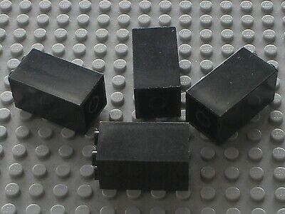 Lego 4 black arches set 8823 8462 7783 6079//4 black brick arch