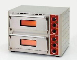 Ø 43 Cm Pizza Gastlando Ausgereifte Technologien Pizzaofen Flammkuchenofen Bistroofen 0-350 °c Für 2x