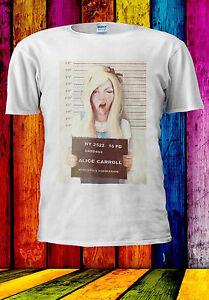 Alice Au Pays Des Merveilles Punk Coupable T-shirt Débardeur Tank Top Hommes Femmes Unisexe 524-afficher Le Titre D'origine Les Consommateurs D'Abord