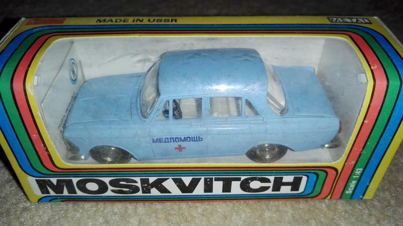 Moskvich  412 Russian soviet USSR voiture Diecast model e1440  au prix le plus bas