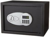Home Office Electronic Gun Cash Wall Floor Digital Compact Steel Security Safe