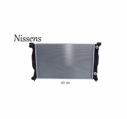 For Audi A4 1.8 2002-2006 Quattro Nissens Aluminum Core Radiator 8E0121251L