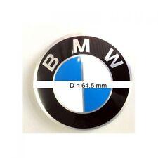BMW Logo Emblem Plakette selbstklebend 64,5mm Aufkleber = Logo Felgenaufkleber