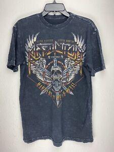 Affliction-Short-Sleeve-T-Shirt-Mens-Black-Size-M