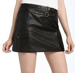 Sexy Butter Soft Womans LAMBS LEATHER MINI SKIRT  All Sizes