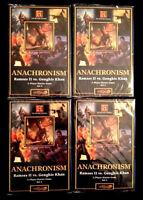 Lot Of 4 - Anachronism-ccg-history-channel-ramses Ii Vs Genghis Khancheap Ship