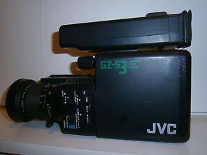 Saticon-Videocamera-JVC-GZ-S3-Vintage