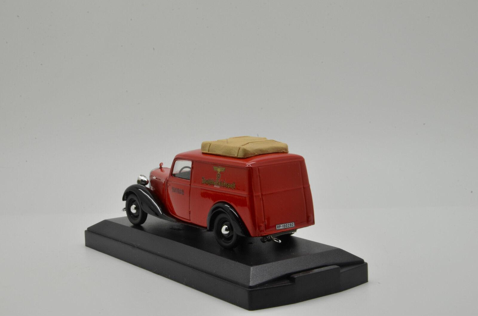 RARE      Mercedes 170 Van Reichpost Post Vitesse 150292 1 43 1c9163