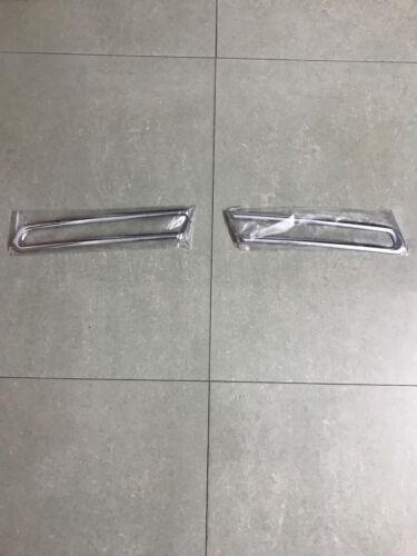 Chrome Car Front Tail Fog Light Cover Trim Decoration For Ford Explorer 11-15