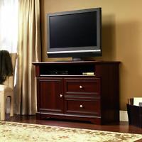 Sauder Palladia High Boy Tv Stand, Select Cherry Finish