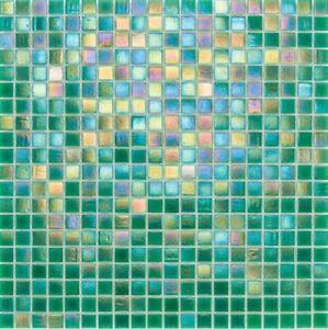Details Zu Glasmosaik Fliesen Perlmutt Grun Irisierend Wand Boden 10 Matten Es 02753 F