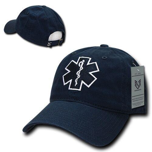 a2ff8b28e6d Emergency Medical Technician EMT Cross EMS Paramedic Polo Style Baseball  Cap Hat for sale online