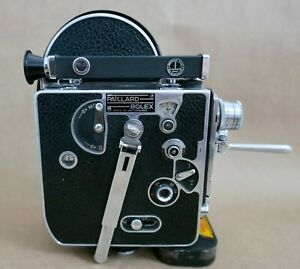 Paillard-Bolex-H-8-8MM-Film-Movie-Camera-2-Lenses-Works