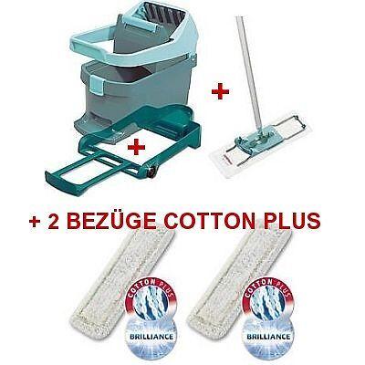 Leifheit Profi Wischtuchpresse Set+2 Bezüge Cotton Plus