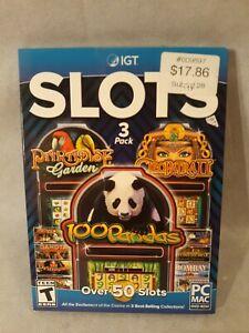 Igt 100 Pandas Cleopatra Paradise Garden Over 50 Slots Pc Mac Casino Games 705381423706 Ebay