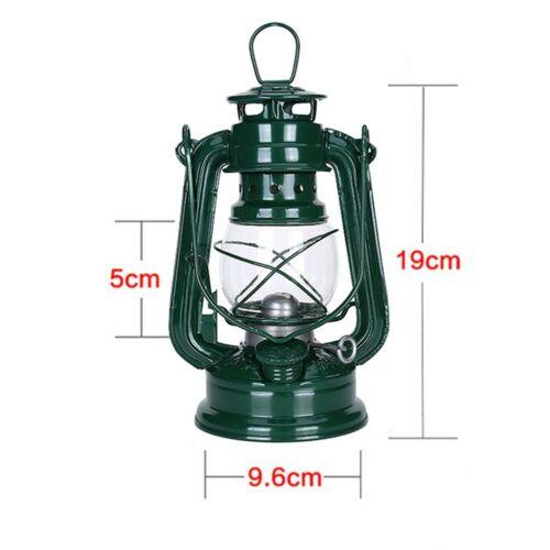 1 Pcs Retro Outdoor Oil Lantern Kerosene Mediterranean Hurricane Camping Lamp