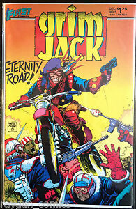 Grim-JACK-Volume-1-5-VF-1st-STAMPA-FIRST-COMICS